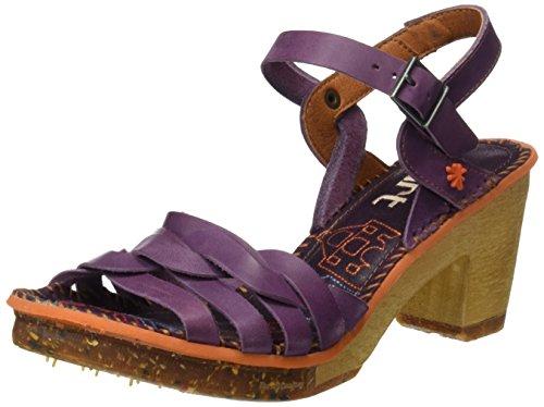 ART Damen 0303 Mojave Amsterdam Sandalen mit Knöchelriemen Violett (Cerise)