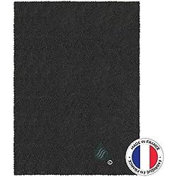Solution Ahead - 1 Filtre Universel pour Hotte au Charbon Actif à découper - 47 x 57 cm - Anti Odeur - Fabrication 100% Française