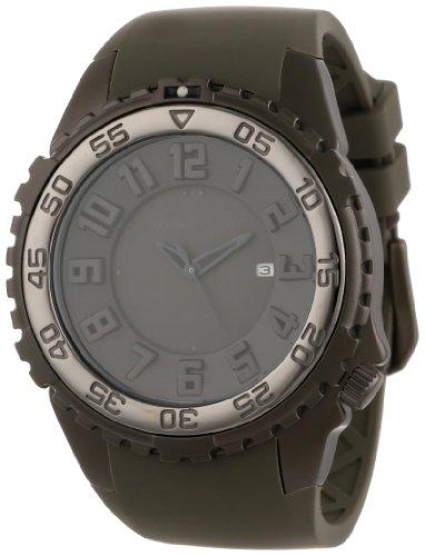 Momentum® - 1M-DV64G4G - Montre Homme - Quartz Analogique - Bracelet Caoutchouc Gris