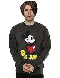 Disney Homme Mickey Mouse Classic Kick Sweat-shirt