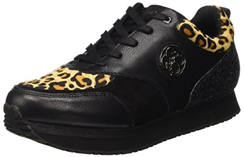 Guess Damen Rimma Pumps Nero (Leopa)
