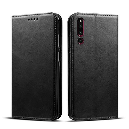 Huawei Honor Magic 2 PU Custodia Premium Flip Astuccio Pelle con Custodia Slot per Schede e Supporto Funzione Antiurto PU Protezione da Urti Ultraleggero -
