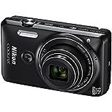 Nikon Coolpix S6900 Digitalkamera (16 Megapixel, 7,5 cm (3 Zoll) Display, 12-fach opt. Zoom, WiFi, micro-USB) schwarz