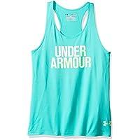 Under Armour UA Tank Camiseta de Tirantes, Niñas, Verde (Absinthe Green), YLG