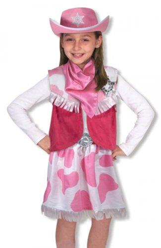 Kinderkostüm Cowgirl rosa Kostüm 3-6 Jahre Karneval (Kostüme Rosa Kinder Cowgirl)
