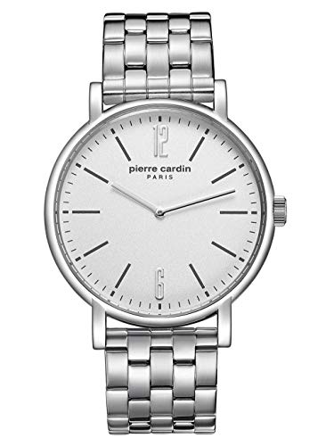 Pierre Cardin Saint-Cloud PC902251F04 Men's Watch Stainless Steel 3 Bar Analogue Silver