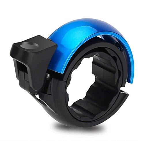 JUCERS Fahrradklingel Laut, Universal Fahrradglocke für Lenker von 22,2 bis 31,8 mm, O Design für Alle Fahrrad Fahrrad-Klinge Alarm Horn Lenkerklingel Blau