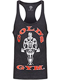 Golds Gym Herren Unterhemd Muscle Joe Premium Stringer Vest