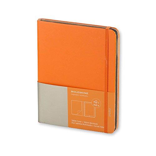 Moleskine Cover für Digitalgeräte / iPad3 + iPad4 / Slim / Orange
