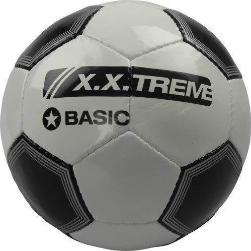 XXT ballon de football taille 5 pVC 2lagig s/w