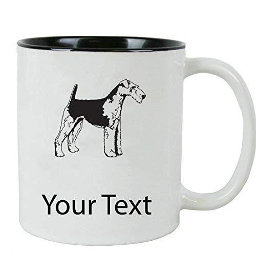 Personalized Custom Airdale Terrier 11 oz White Ceramic Coffee Mug Gift Mug