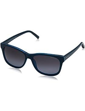 Tommy Hilfiger Unisex-Erwachsene Sonnenbrille TH 1985 HD, Schwarz (Teal Turquoi), 56