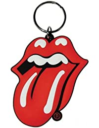 Rolling Stones - Tongue - Gummi Schlüsselanhänger - Grösse ca. 5cm