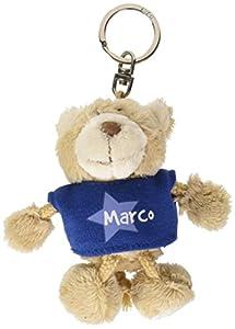 NICI n15885-Llavero Oso con Camiseta Marco, Azul