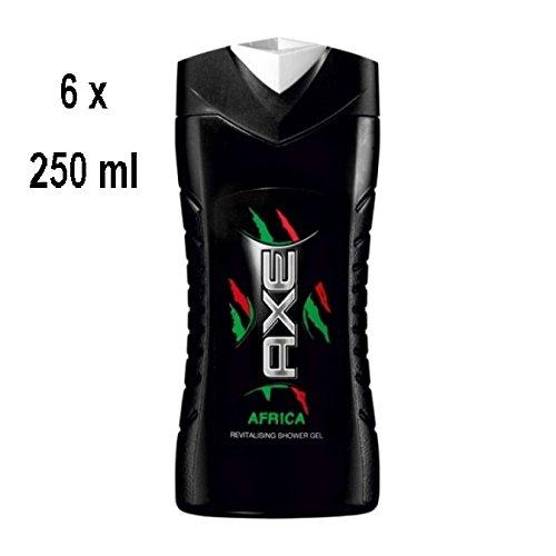 """Axe Men Duschgel """"Africa"""" - 6er Pack (6 x 250 ml)"""