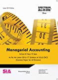 Managerial Accounting (Common Paper for All Streams) B.Com III-Year VI-Sem, As Per the 2016-17 Syllabus of (O.U) CBCS, Latest 2019 Edition