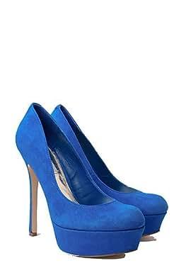 Steve Madden - Escarpins Bleu - Femmes - Taille : 36 - Couleur : Royal Electric Blue