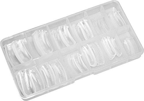 120 Dual System Forms / Popits / Nagelformen für PolyGel, Acryl Gel, Acryl klar (Gel-nagel-formen)
