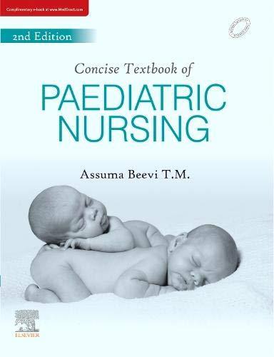 Concise Text Book for Pediatric Nursing