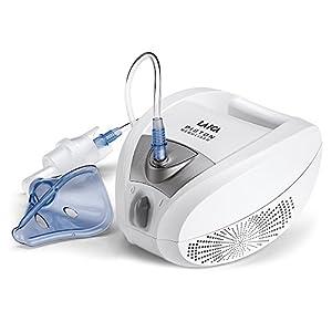 Inhalator für Aerosoltherapie Laica NE2003, Inhalator mit Kolbenpumpe, für alle Medikamente verwendbar