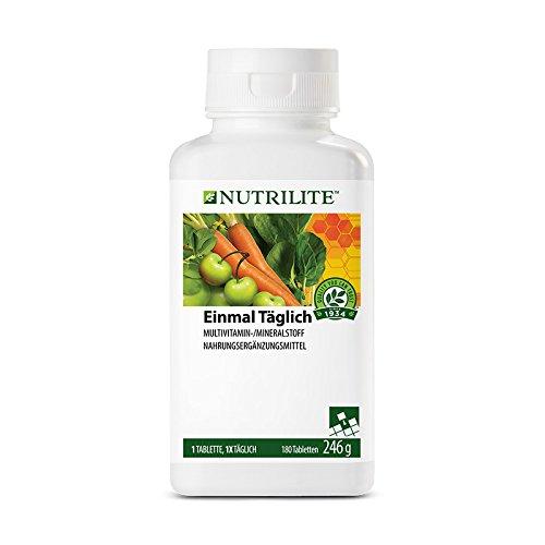 Multivitamin Ohne Niacin (Einmal Täglich Großpackung NUTRILITETM - 180 Tabletten / 246 g - Amway - (Art.-Nr.: 5718))