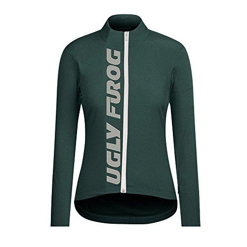 Frühling & Herbst Fahrradtrikot Langarm Shirt Damen MTB Racing Team Breathable Radfahren Fahrrad Lange Hülsen Jersey Fahrrad Hemd Frauen Langarm Fahrradbekleidung ()