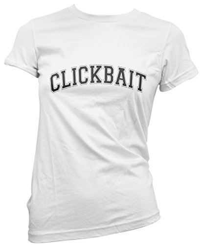 cc21d5d20 HotScamp Clickbait - Womens T-Shirt - Casey neistat Youtuber Merch  Pewdiepie Shane Dawson -