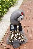 Cappotto carino Pet Supplies Varie Vestiti per animali domestici abbigliamento per animali domestici teddy dog ?? vestiti a quattro zampe mimetici (Colore: Camouflage, Taglia: L) Vestiti carini