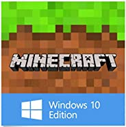 Minecraft Windows 10 Edition Download Code Only (No CD/DVD)