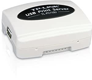TP-Link TL-PS-110U Netzwerk Ethernet Print Server USB 2.0 [Amazon frustfreie Verpackung]
