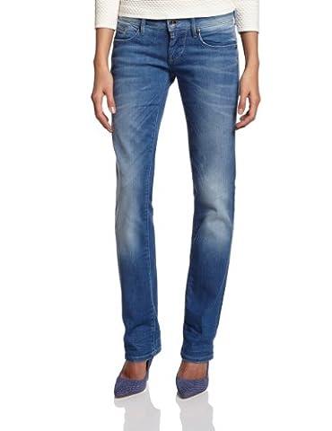 G-STAR Damen Straight Leg Jeanshose 6021 Midge, Gr. W31/L32, Blau (Dk Aged 5783.89)