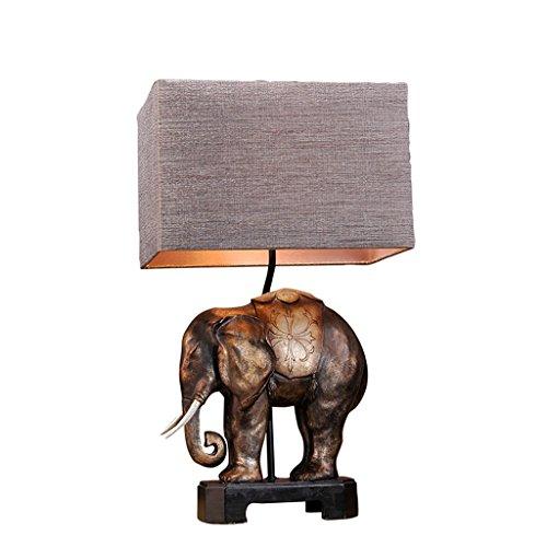 personnalité simple Lampe de Table Rétro Style Européen Lampe de Table Chambre à coucher Lampe de Chevet Décoration Style Américain Salon Creative