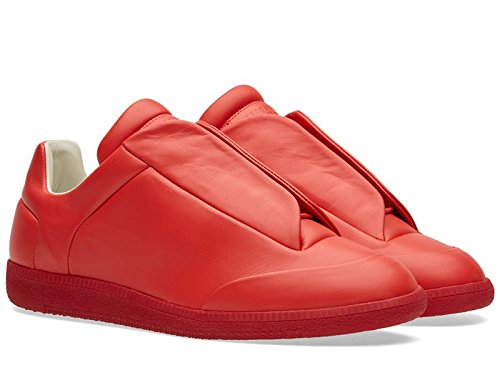 maison-margiela-mens-low-top-future-red-sneakers-model-number-s37ws0263-sx8966-312-size-7-uk