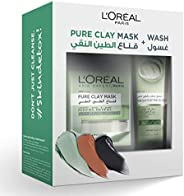 L'Oreal Paris Pure Clay Green Mask & Wash - Purifying