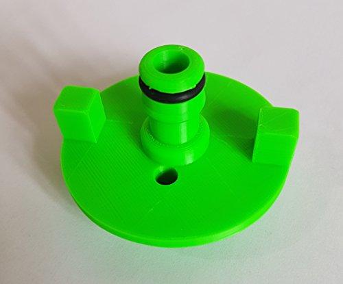 Preisvergleich Produktbild Wohnmobil Wasser Tank Tankdeckel mit Schlauch Anschluss: passend für Fiamma Typ: Grün-Adapter