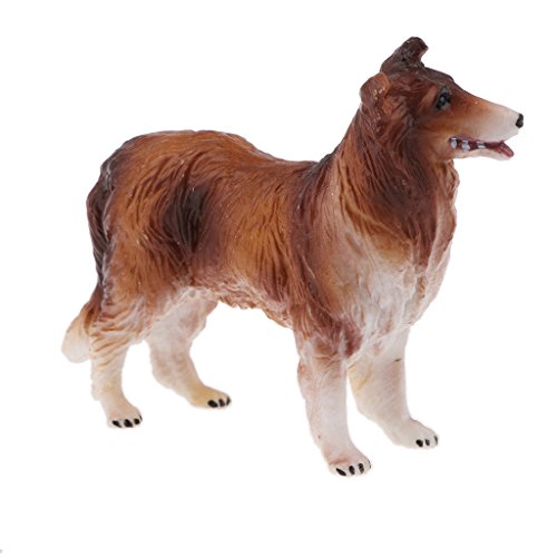 Anbau Simulation Science & Nature Farm Animal Bird Model Figurine Kids Toy Collection Home Decoration Party Favors- Dog #B
