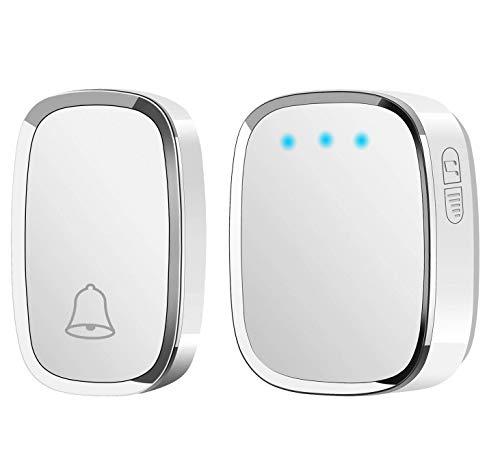 Doorbell Security & Protection Wireless Mini Size Door Bell Outdoor Push Button Ip55 Waterproof Doorbell Elegant Design Sensitive Transmission Superior Performance