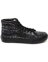 419a90606f Amazon.es  vans old skool gris - Negro   Zapatos  Zapatos y complementos
