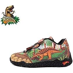 Dinosoles Dinorama Ankylosaurus Shoe (Children/Toddler/Little kid)