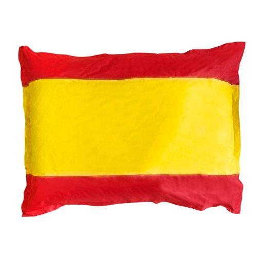 Lumaland PUF bandera España PUF otomano Puff XXL 140 x 180 cm 380l para interiores y exteriores