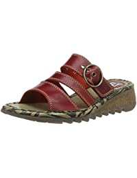 FLY London Thea724, Sandales Bout Ouvert Femme