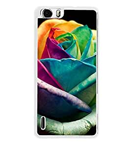 ifasho Designer Back Case Cover for Huawei Honor 6 (Common Rhododendron Govern Rose Kanti BlowBloomNatureFlourish)