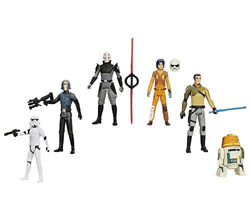 Star Wars - Figura Rebels (Hasbro A3857E31) - surtido: modelos y colores aleatorios