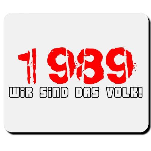 1989 BRD DDR Mauerfall Wiedervereinigung Deutschland Bundesrepublik - Mauspad Mousepad Computer Laptop PC #1849M