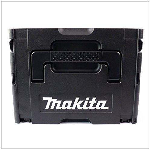 Makita Makpac Gr. 2 Transportbox und Werkzeugkiste — schwarz — - 4