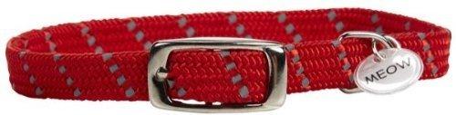 Artikelbild: ElastaCat ElastaCat Reflective Cat Collar - 3/8 10 - Red by ElastaCat