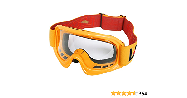 Leopard Motocross Brille Motorrad Quad Atv Off Road Schutz Brille Motorradbrillen Gelb Bekleidung