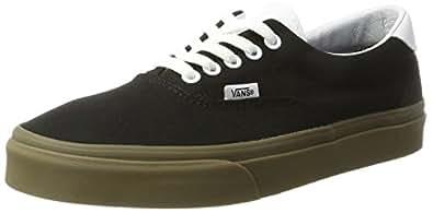 Vans Men's Era 59 Trainers, (Bleacher) Black/Gum, 6 UK 39 EU