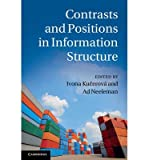 [ CONTRASTS AND POSITIONS IN INFORMATION STRUCTURE ] BY Ku Erov, Ivona ( AUTHOR )Jul-26-2012 ( Hardcover )