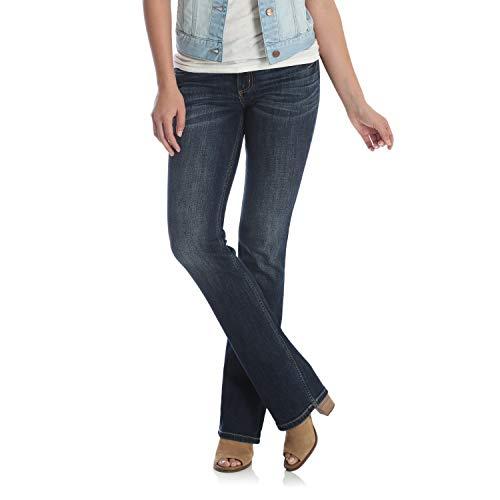 Wrangler Women's Retro Sadie Low Rise Stretch Boot Cut Jean, Dark Blue, 3X30 - Wrangler Low Rise